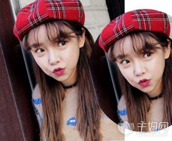 空气刘海发型图片