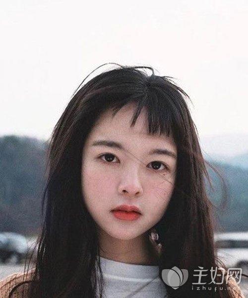 适合圆脸的发型图片