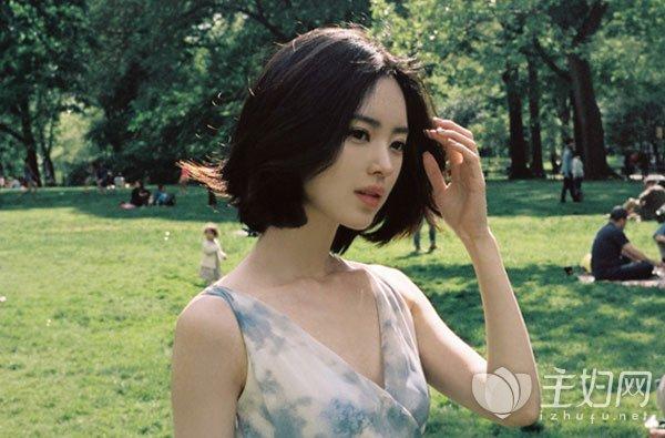 刘海发型图片