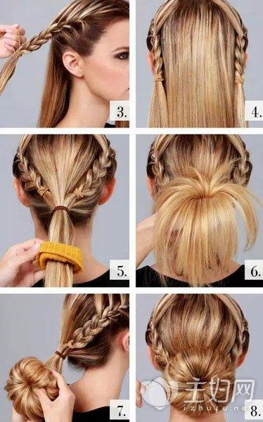 明星丸子头发型图片