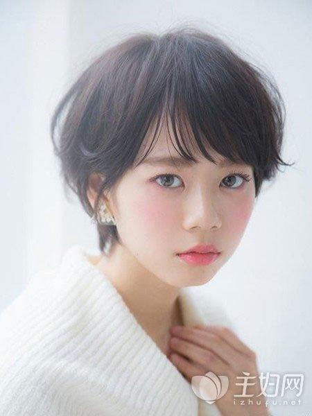 【2017流行短发发型女】女生短发发型图片大全_主妇