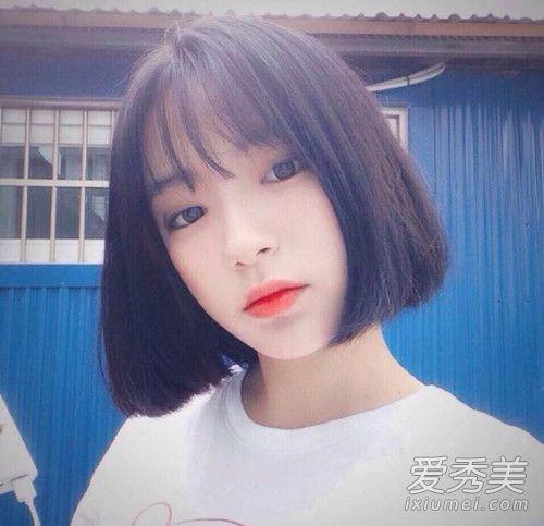 瓜子脸适合什么刘海