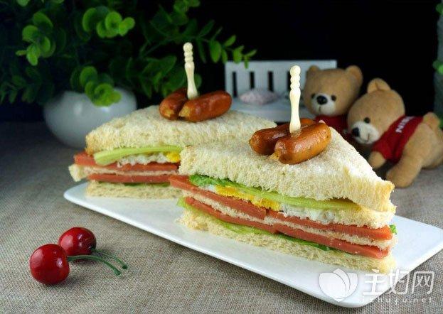 三明治怎么做