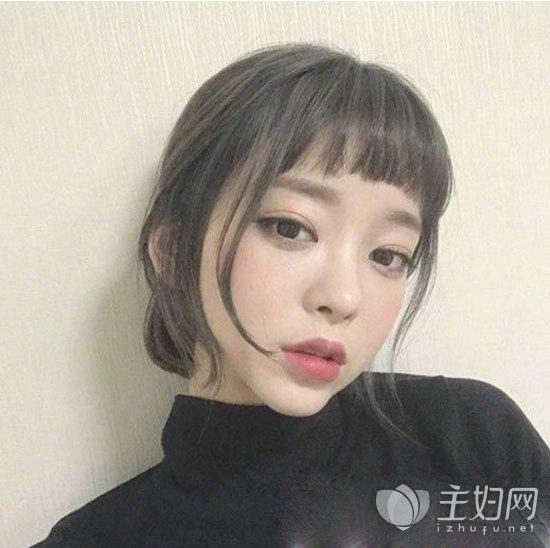 【短发刘海发型图片】短发适合什么刘海发型_主妇美发