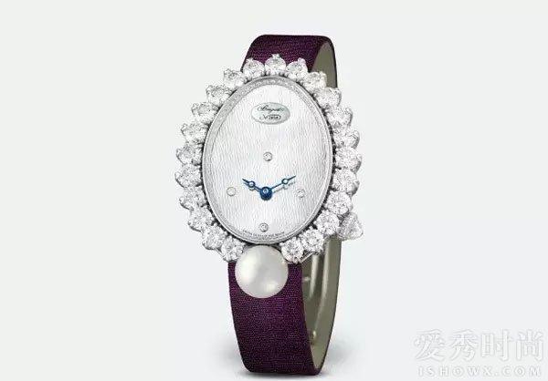 宝玑那不勒斯高级珠宝腕表