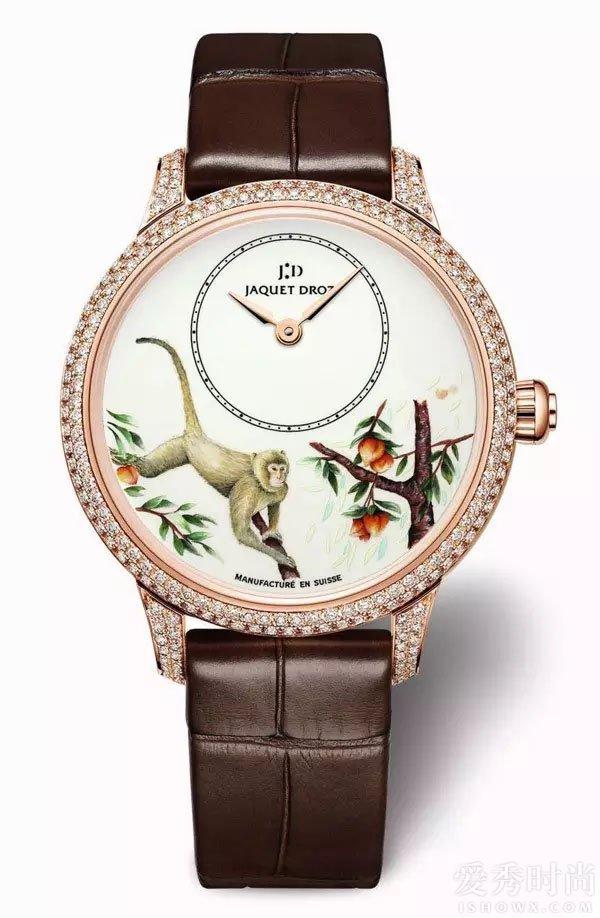 雅克德罗猴年生肖腕表