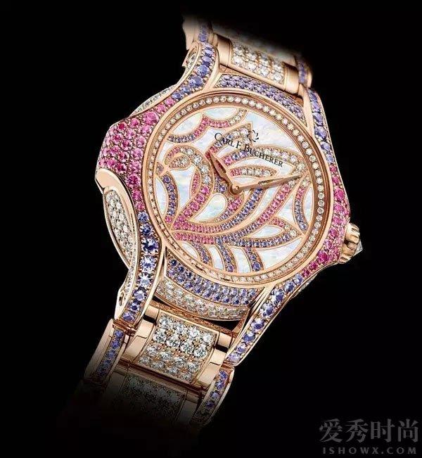 宝齐莱白蒂诗系列天鹅限量珠宝腕表