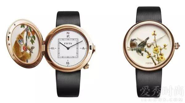 飞亚达艺系列精微绣腕表