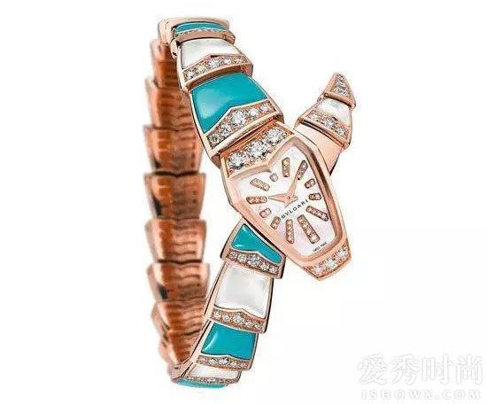 宝格丽Serpenti珠宝腕表