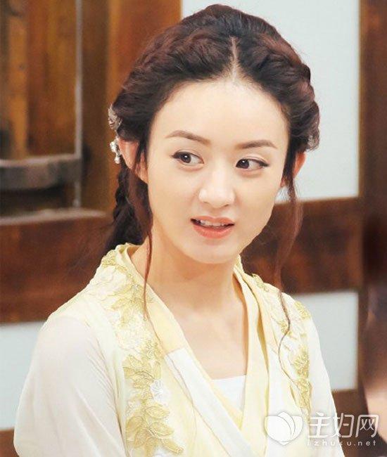 《楚乔传》赵丽颖头型玩出发型多种篮球花样的名图片