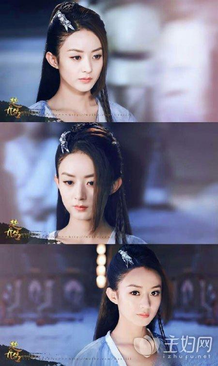 《楚乔传》赵丽颖发型玩出多种花样图片