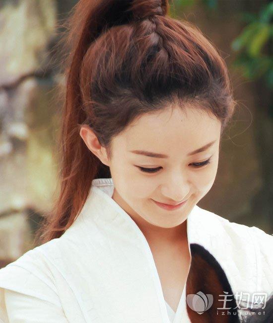 【《楚乔传》赵丽颖图片】周发型赵丽颖扎发发颜色凌冬雨昆发型图片