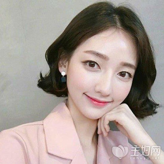 【时尚丸子短发短发】齐耳女生女星a时尚韩发型图片头图片