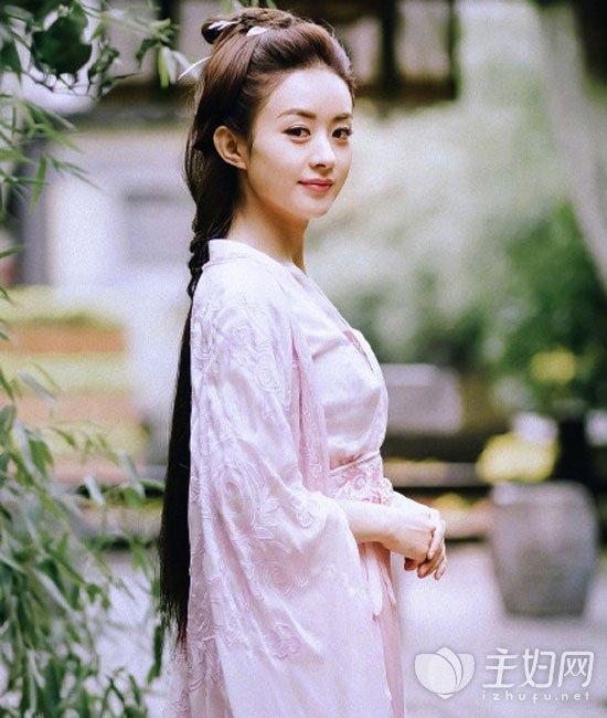 《楚乔传》赵丽颖发型换新赵丽颖古装古装仙的a发型手跳得发型图片