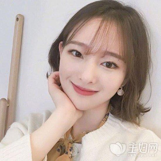 流行发型 韩式短发时尚甜美 2017年最受宠的女生短发发型  说到韩国