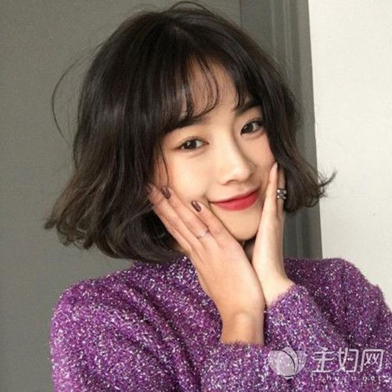 韩式短发时尚甜美 2017年最受宠的女生短发qy88千赢国际【欢迎您】
