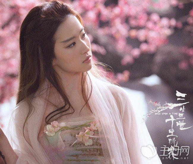 《三生三世十里桃花》刘亦菲发型