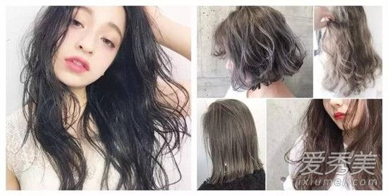 2017最流行的发色女