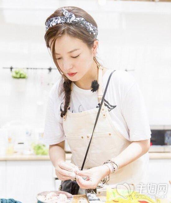 《中餐厅》赵薇发型图片