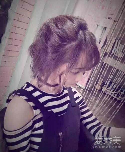 空气刘海适合什么发型