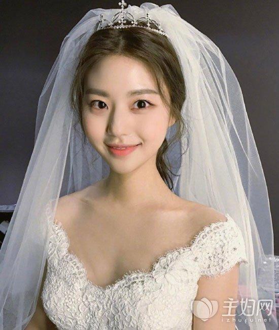 2017最美新娘造型get起来 韩式新娘发型图片 -2017年最美新娘造型 主图片