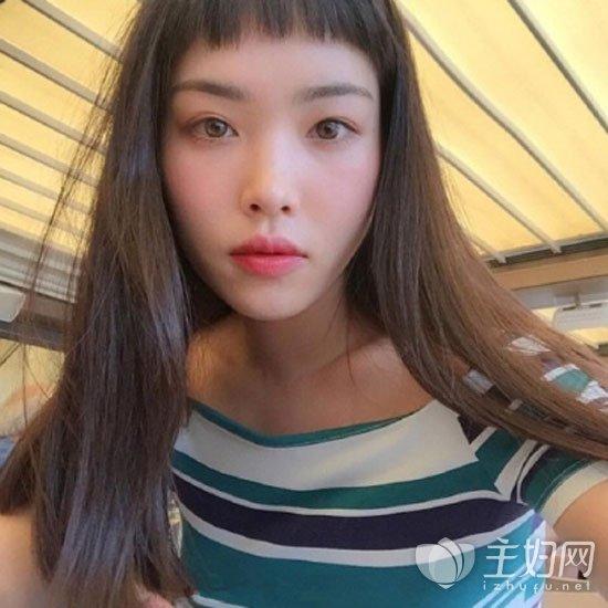 二次元刘海短发时尚减龄 二次元短刘海适合的脸型