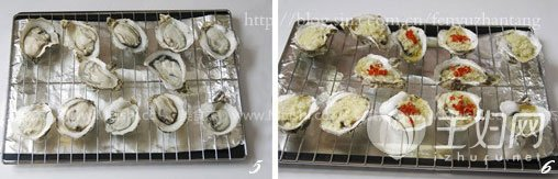 烤生蚝的做法