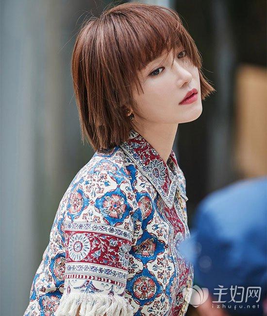 有种短发叫高俊熙 韩星高俊熙短发最新发型图片