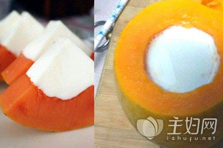 木瓜牛奶怎么做