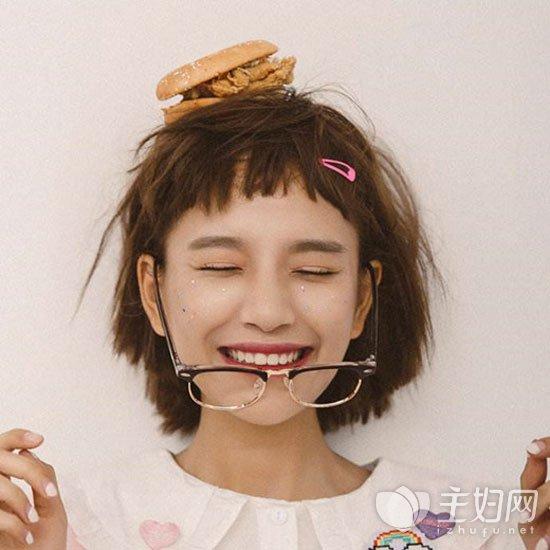 二次元短刘海发型