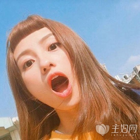 二次元刘海适合什么发型 眉上短刘海减龄可爱