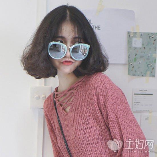 头发多适合的短发发型