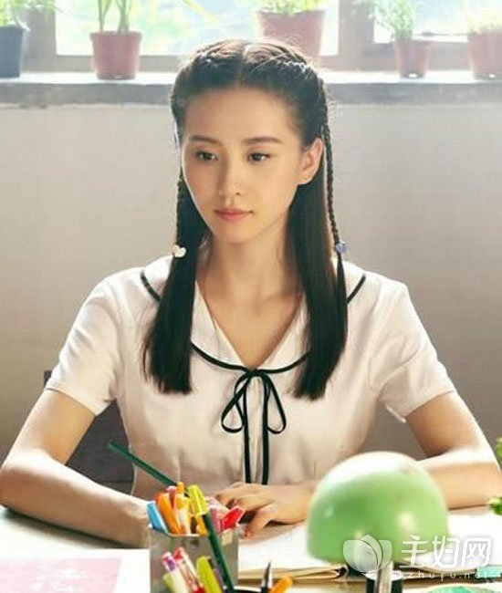 刘诗诗编发发型
