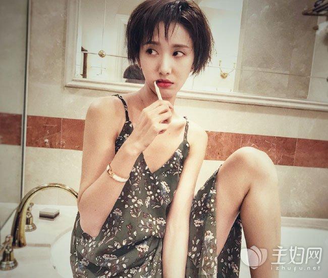 许芳铱短发发型图片