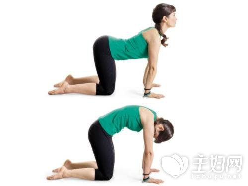 子宫后位痛经瑜伽矫正方法