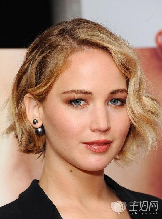短发戴什么耳环好看,中长发戴什么耳环好看