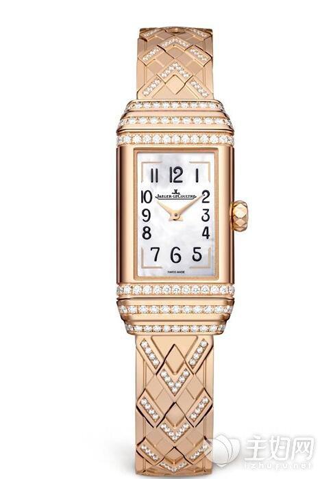 积家双面翻转系列珠宝腕表