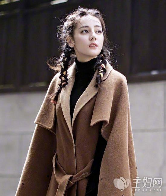 2017秋冬最时尚流行发型 迪丽热巴范冰冰马尾辫当道