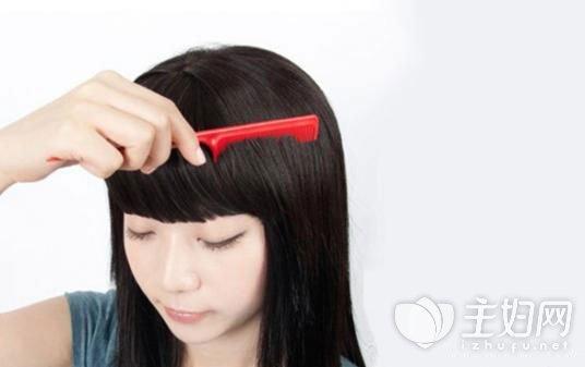 假刘海的佩戴方法图片