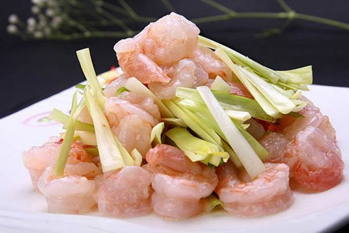 鲜虾的家常做法直接热水泡