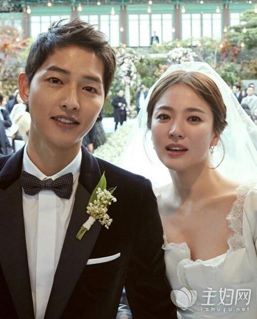 宋慧乔和宋仲基结婚
