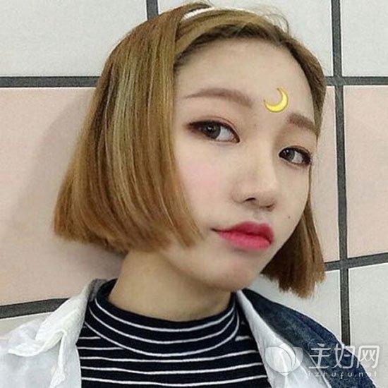 女生短直发发型