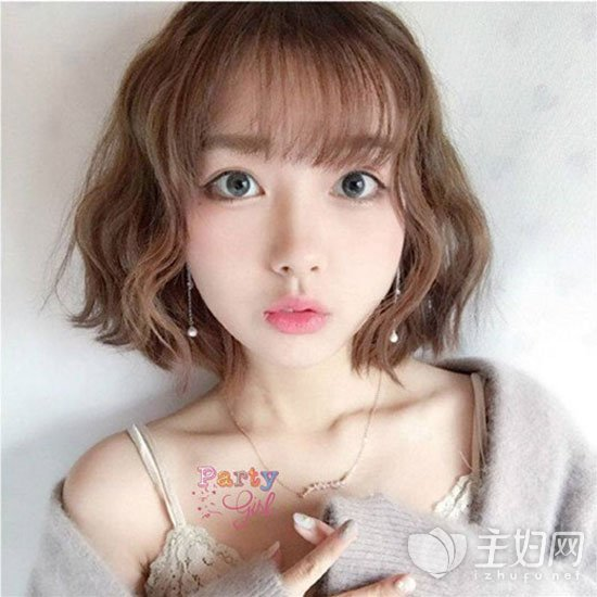 空气刘海短发发型