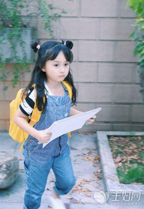 清新可爱的小女孩发型 打造最萌小萝莉
