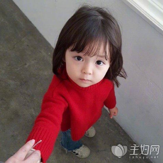 儿童短发发型图片