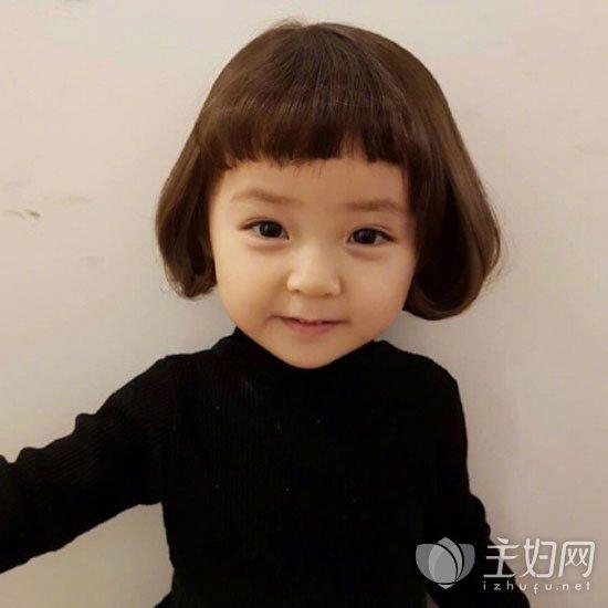 女宝宝短发发型