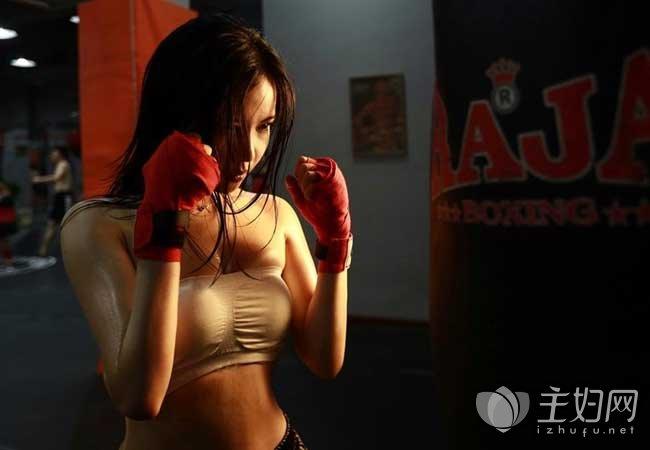 搏击操是减肥最好的运动