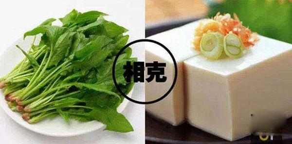菠菜和豆腐能一起吃吗