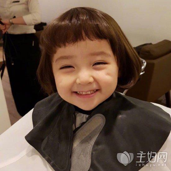 发型造型儿童图片短发短发女唱粤语风的季节图片
