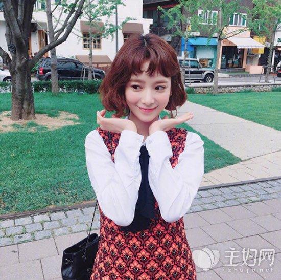 韩系短发发型图片